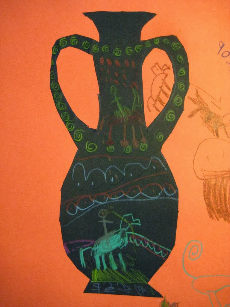 Ancient greek vases floridacreate recently i saw a great idea from gail bartel thatartistwoman about painting ancient greek vases her project has the students mixing warm terracotta reviewsmspy