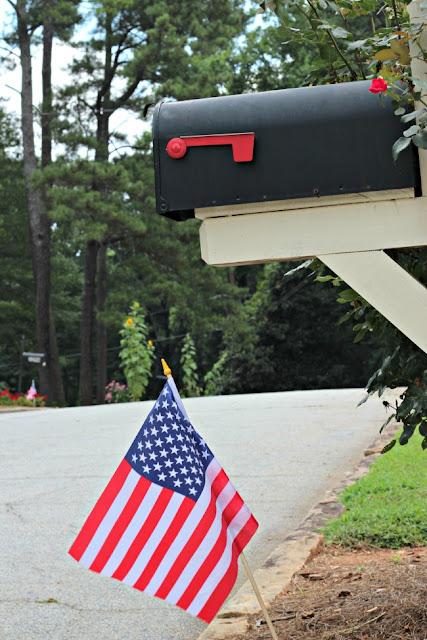 American Flag Neighborhood Tradition