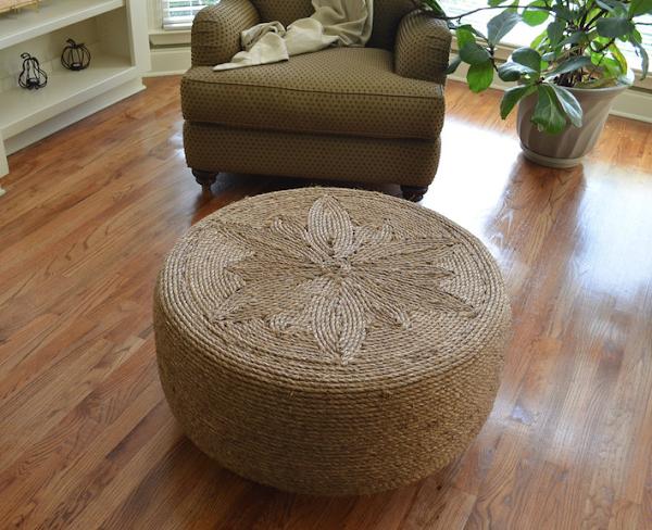 Reciclaje creativo. Muebles con materiales reciclados paso a paso