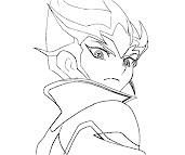 #9 Kaito Tenjo Coloring Page