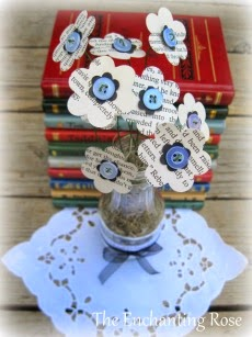 Book Flower Bouquet