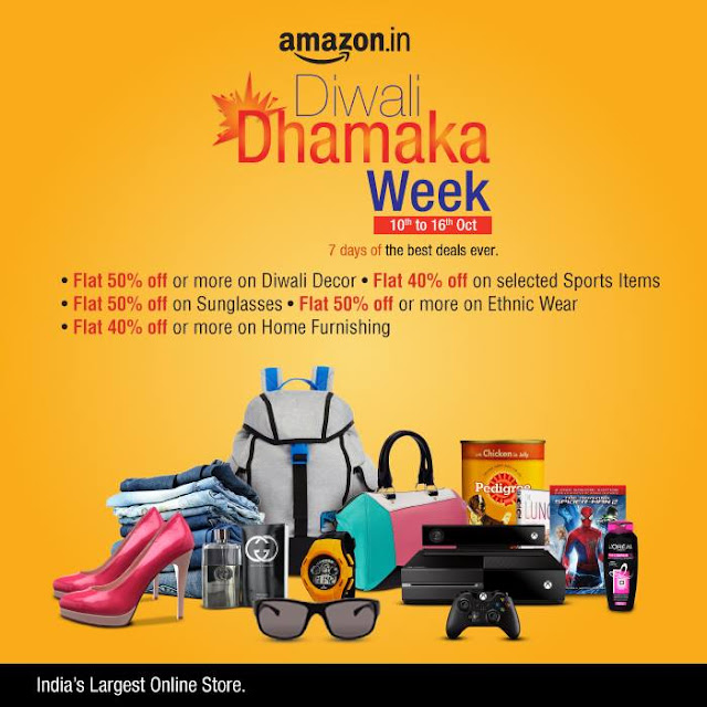 Amazon Diwali Sale Dhamaka New Deals Every Hour
