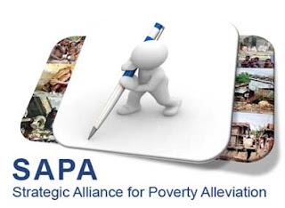 Website SAPA Indonesia-Aliansi+Strategis+Penanggulangan+Kemiskinan-menyajikan data dan informasi kemiskinan daerah dalam format peta, tabel, dan grafik untuk 32 kabupaten/kota di Indonesia