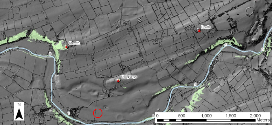 Mythical Ireland blog First passagetomb discovered in the Boyne