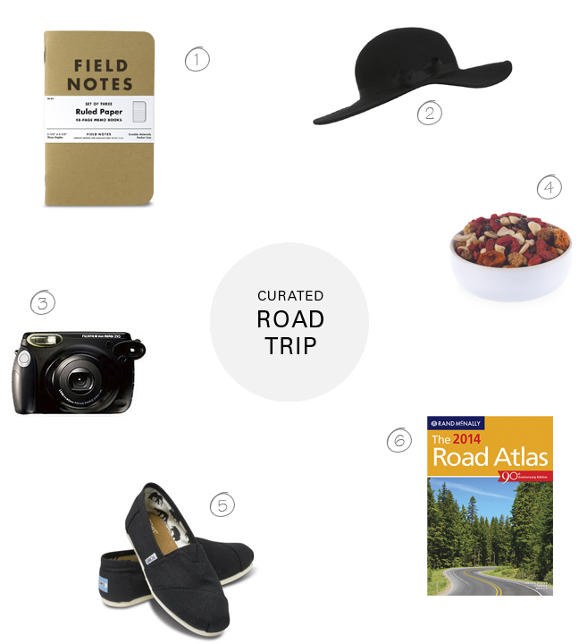 FOXTAIL+MOSS, Road Trip, CURATED