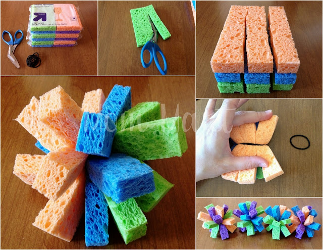 How to make Sponge Balls: Crafts For Kids