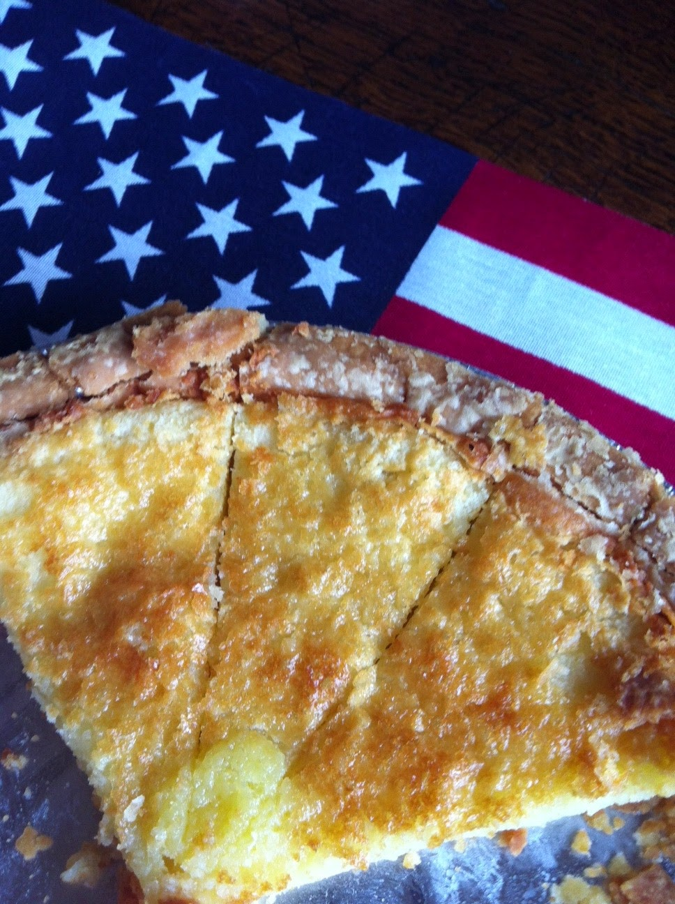 Buttermilk Pie for the 4th of July