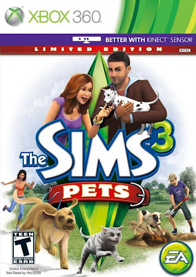 The Sims 3: Pets Xbox 360