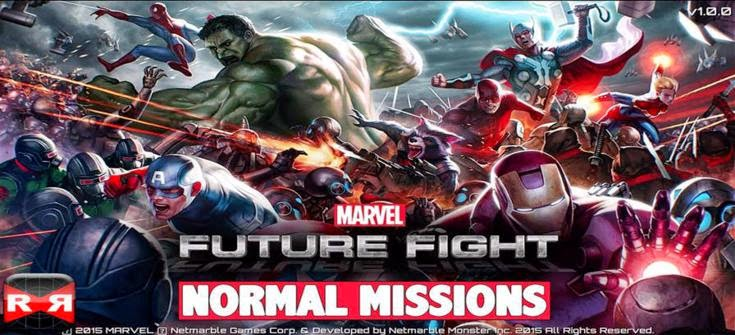 Download MARVEL Future Fight Apk + Data Torrent