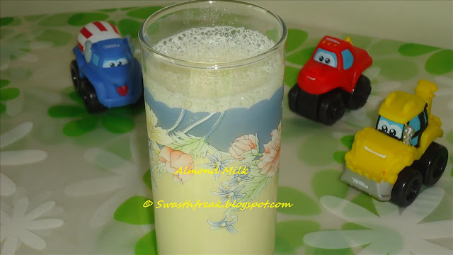 Almond Milk for Babies and Kids - Indian Recipe