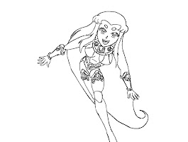 Teen Titans Coloring Pages To Print