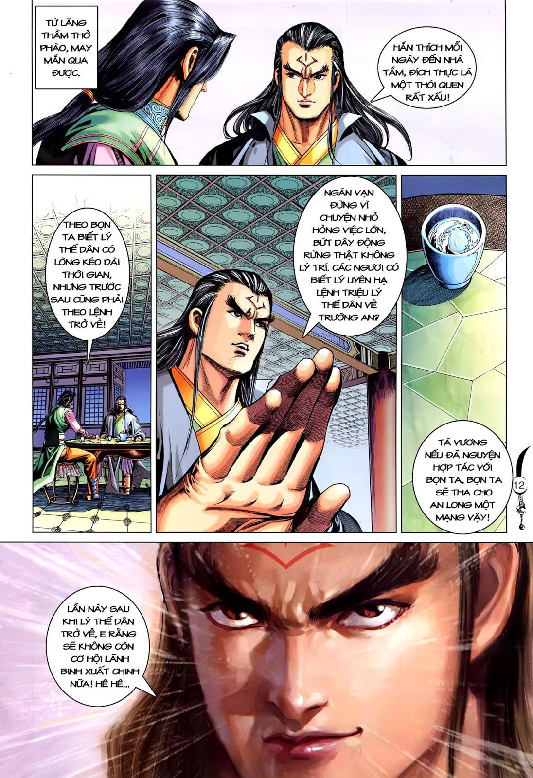 Đại Đường Song Long Truyện chap 216 - Trang 14