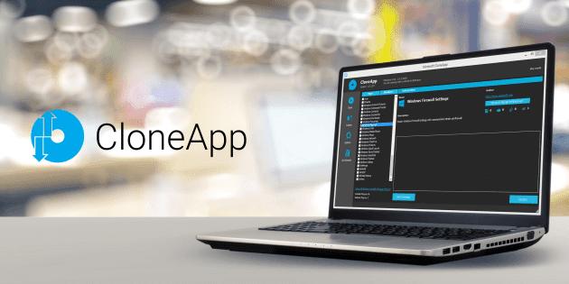 برنامج CloneApp لأخذ نسخة احتياطية من الملفات والبرامج من الويندوز