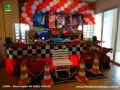 Tema Carros para decoração de festa de aniversário infantil de meninos - Festa infantil