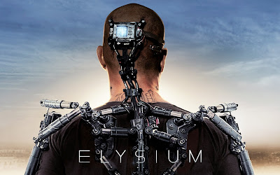 Elysium Full Movie 2013 wide Poster Wallpaper