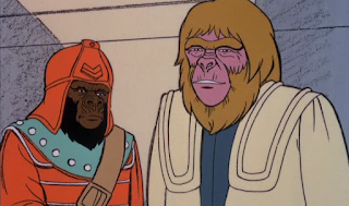 Imagen dibujos animados El Planeta de los Simios