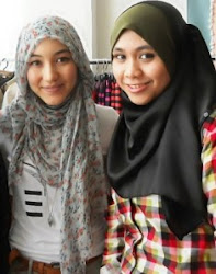 Zuffy with the famous Hijabie