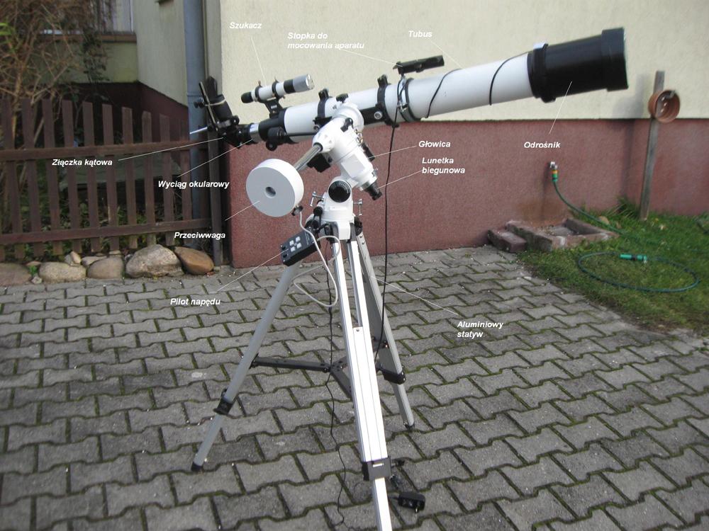 Mój wszechświat: sprzęt obserwacyjny
