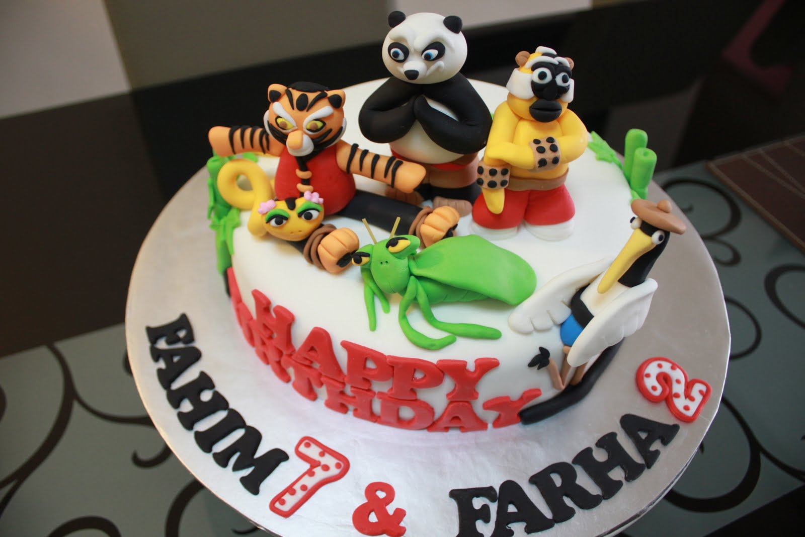 Comelicious Kung Fu Panda Cake