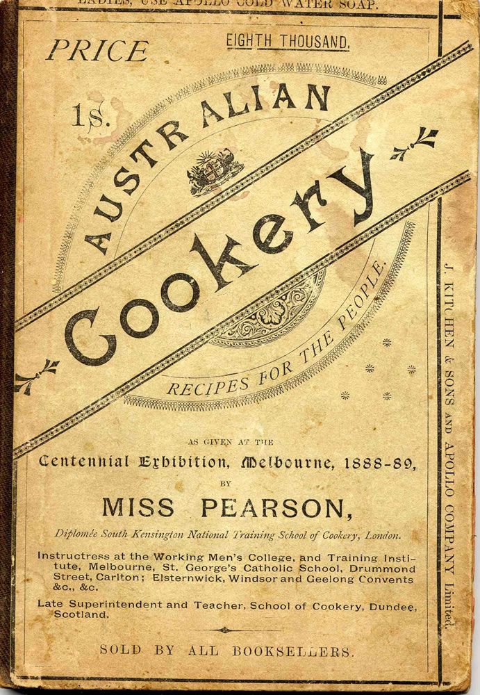 Recipes from the 1830 s