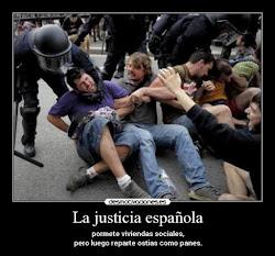 Justicia a la española con hedor a fascismo