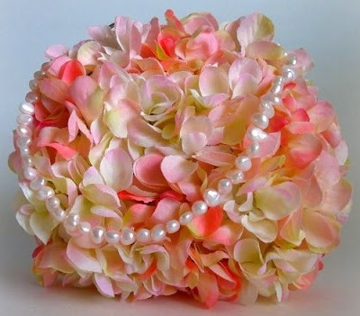 Mary Jo Matsumoto Floral Bridal Bag