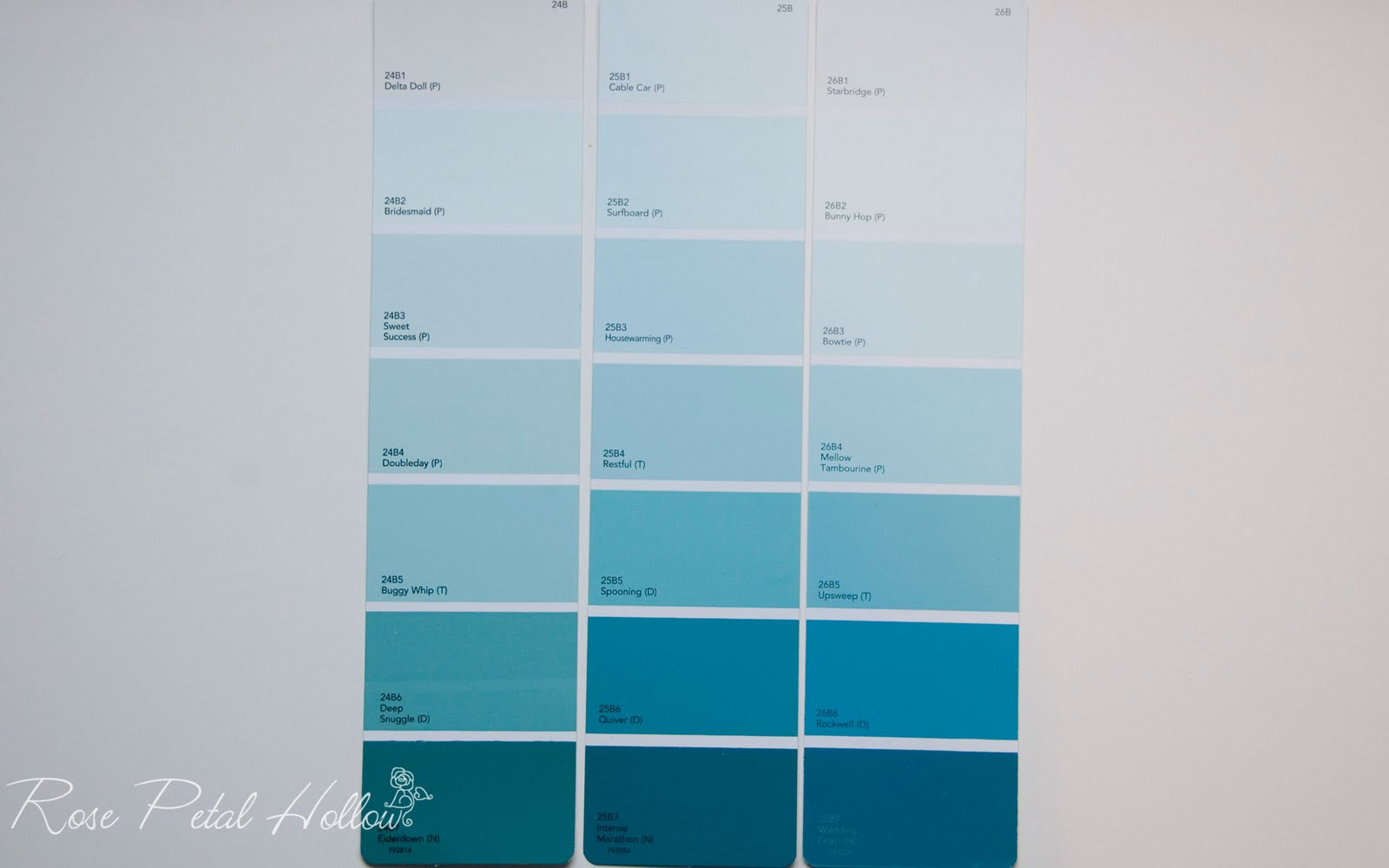 Blue Greens From True Value Paint Colors I Love