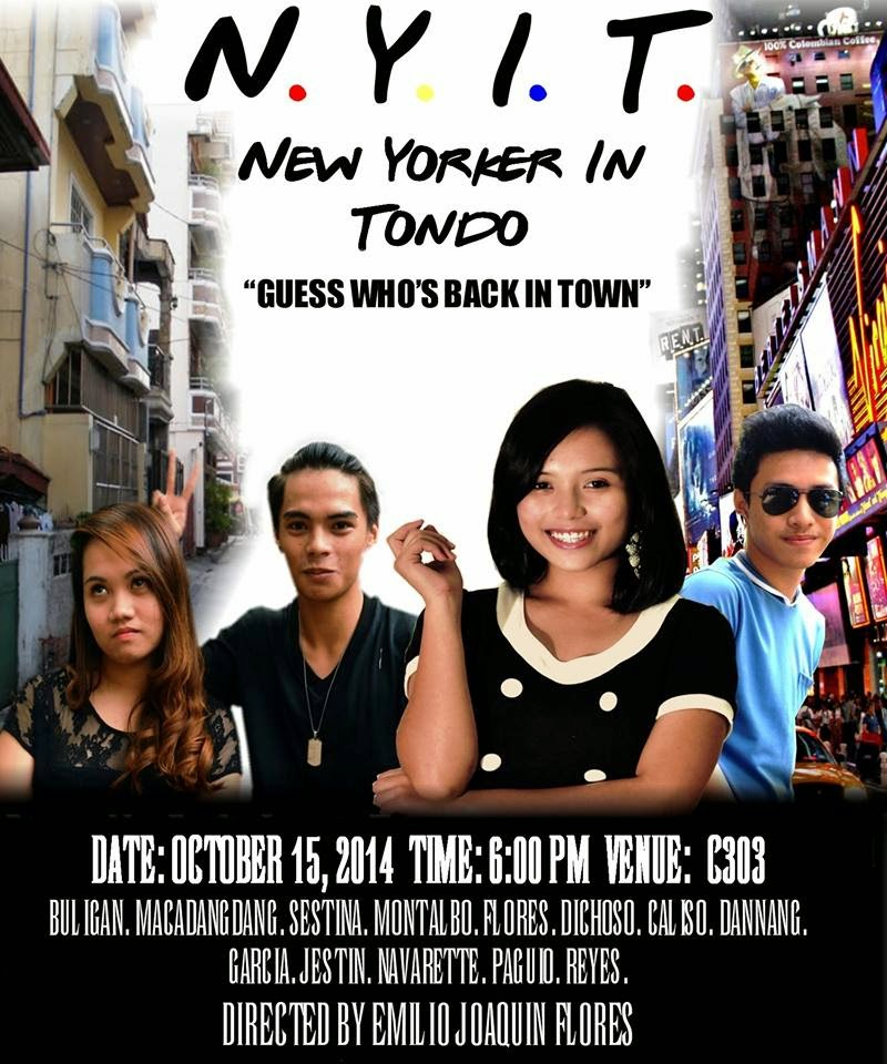 story of new yorker in tondo and the author This is a funny story script of the new yorker in tondo by marcelino agana jr autobiography of marcelino agana jr author of new yorker in tondo.