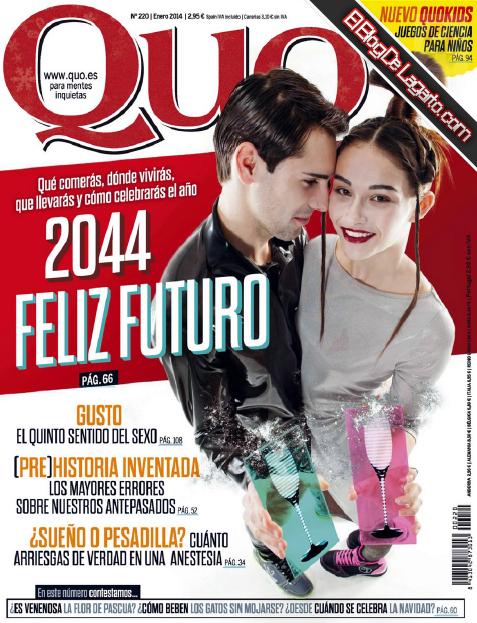 Revista Quo España Enero 2014 - 2044 Feliz Futuro
