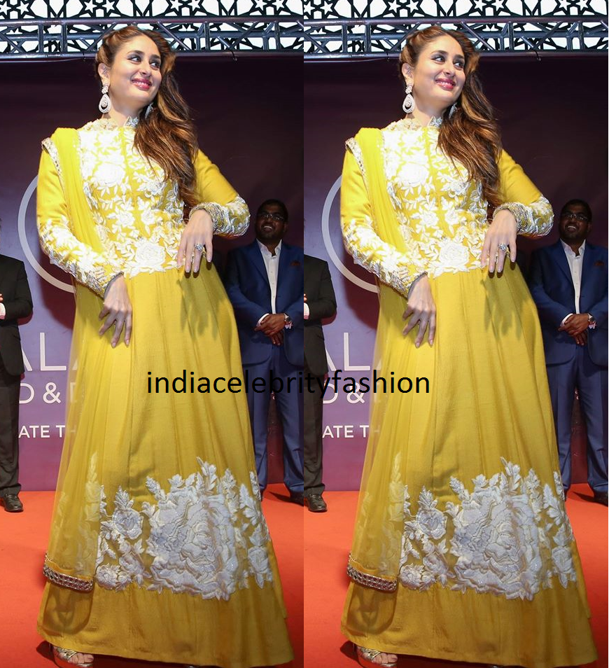 Kareena Kapoor in Manish Malhotra Anarkali suit