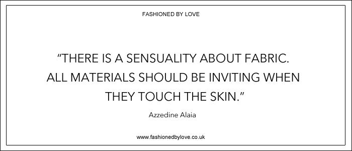 via fashioned by love | best fashion & style quotes | Azzedine Alaia