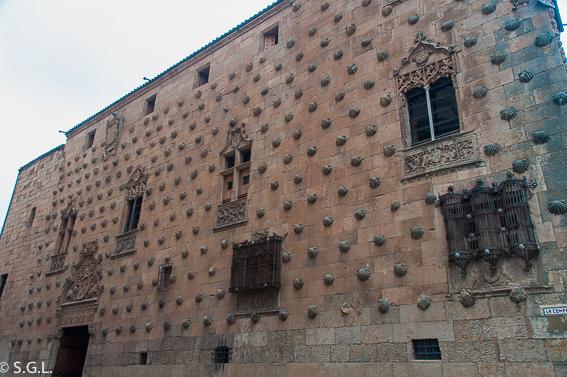 La casa de las cochas en Salamanca. Visitando Castilla y Leon