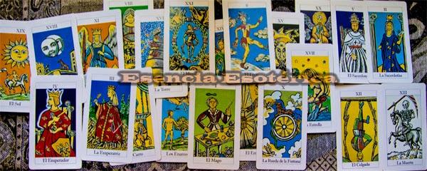 tarot esencia esoterica arcanos mayores