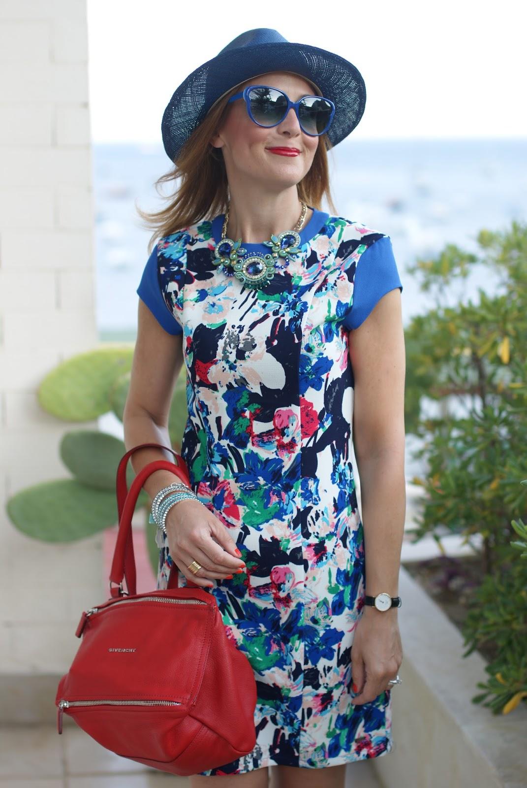Ecua-Andino hat and Mismash dress on Fashion and Cookies fashion blog