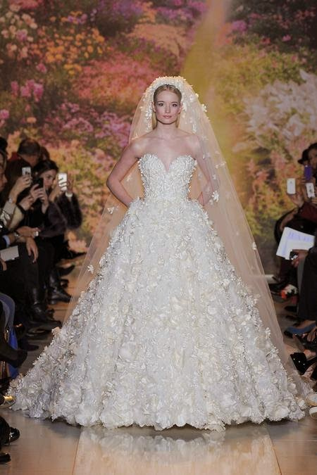 zuhair murad wedding dress 2014