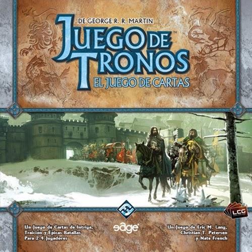 Caja del juego de cartas de  Juego de Tronos