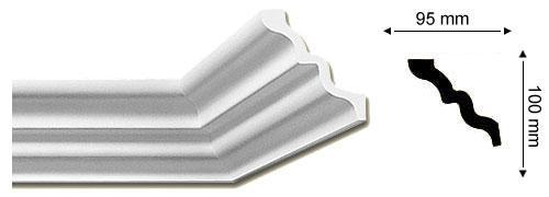 Sanca Nomastyl SM - 13,5 cm de largura