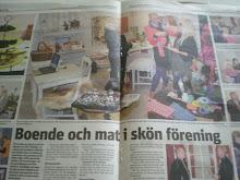 Arvika Nyheters mittuppslag.