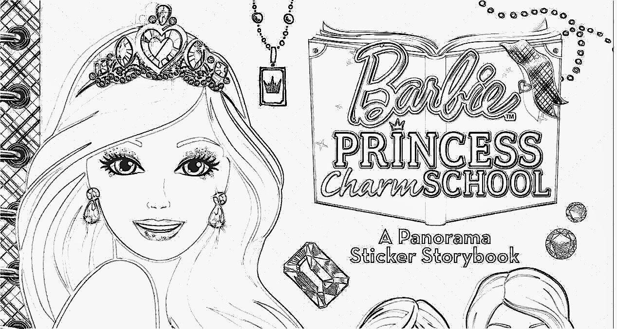 Coloring pages barbie princess charm school - Desenhos Para Imprimir E Colorir Barbie