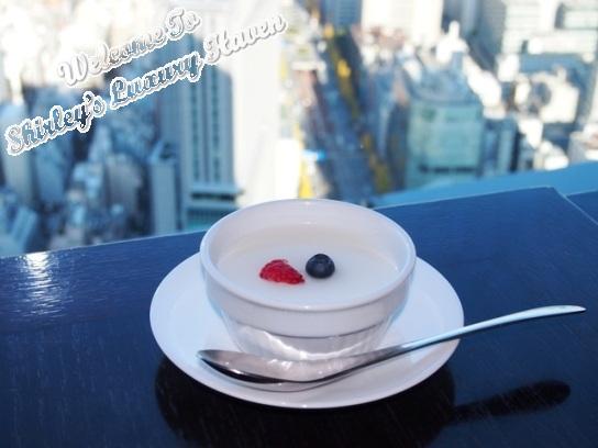 tokyo shiodome grand city almond pudding