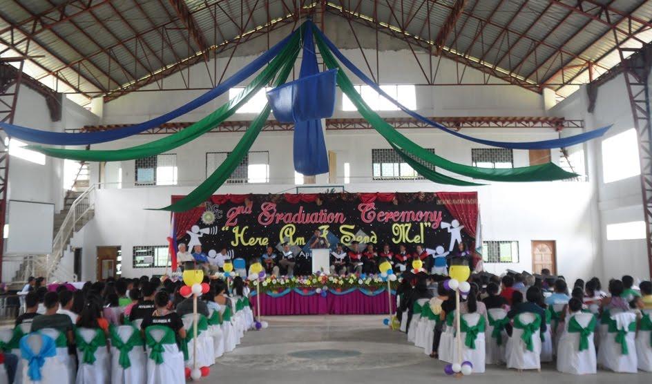 Inside the Graduation Ceremony