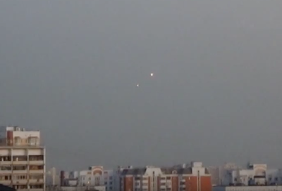 Glowing UFO's Caught Above Moscow 2015, UFO Sightings