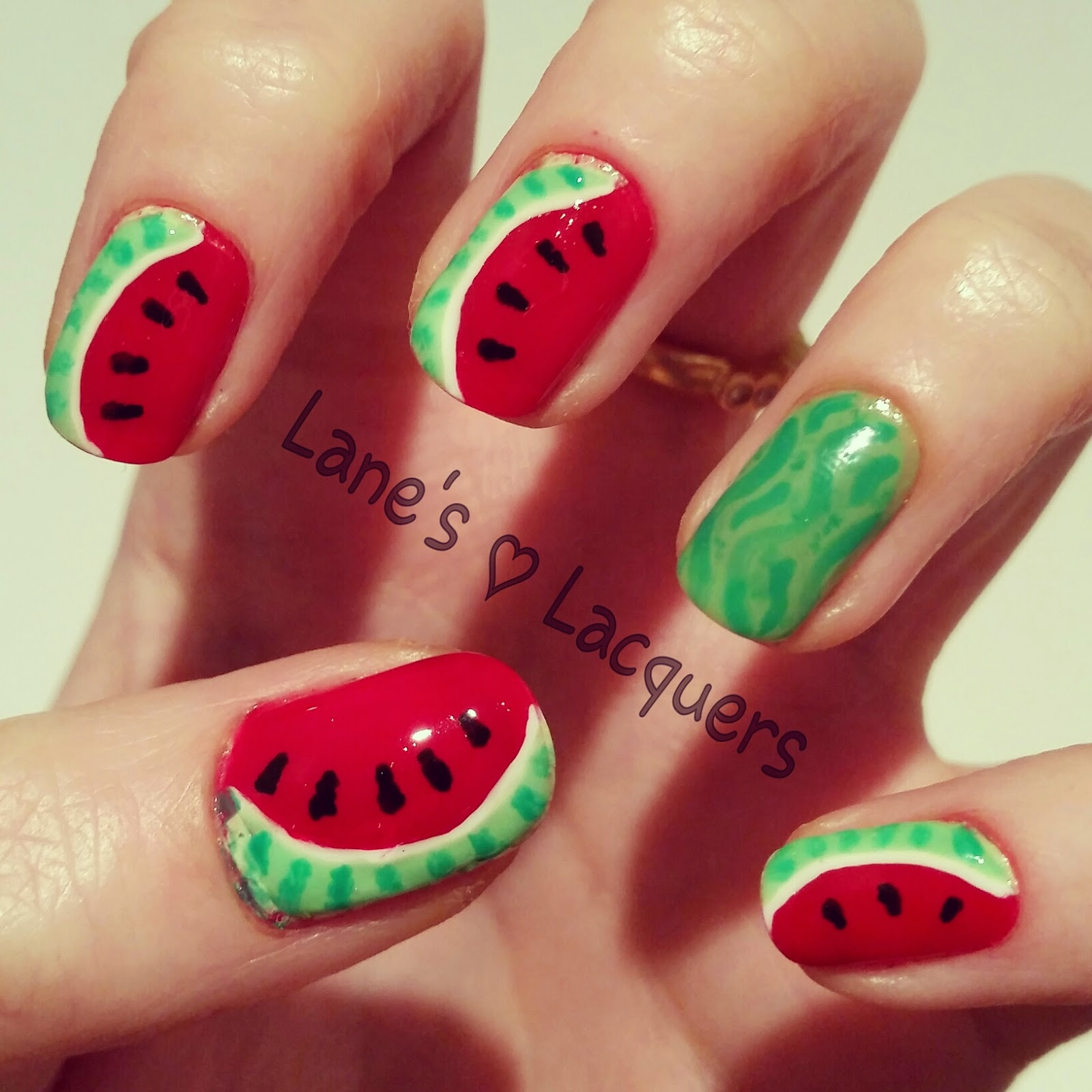 barry-m-blood-orange-watermelon-freehand-nail-art