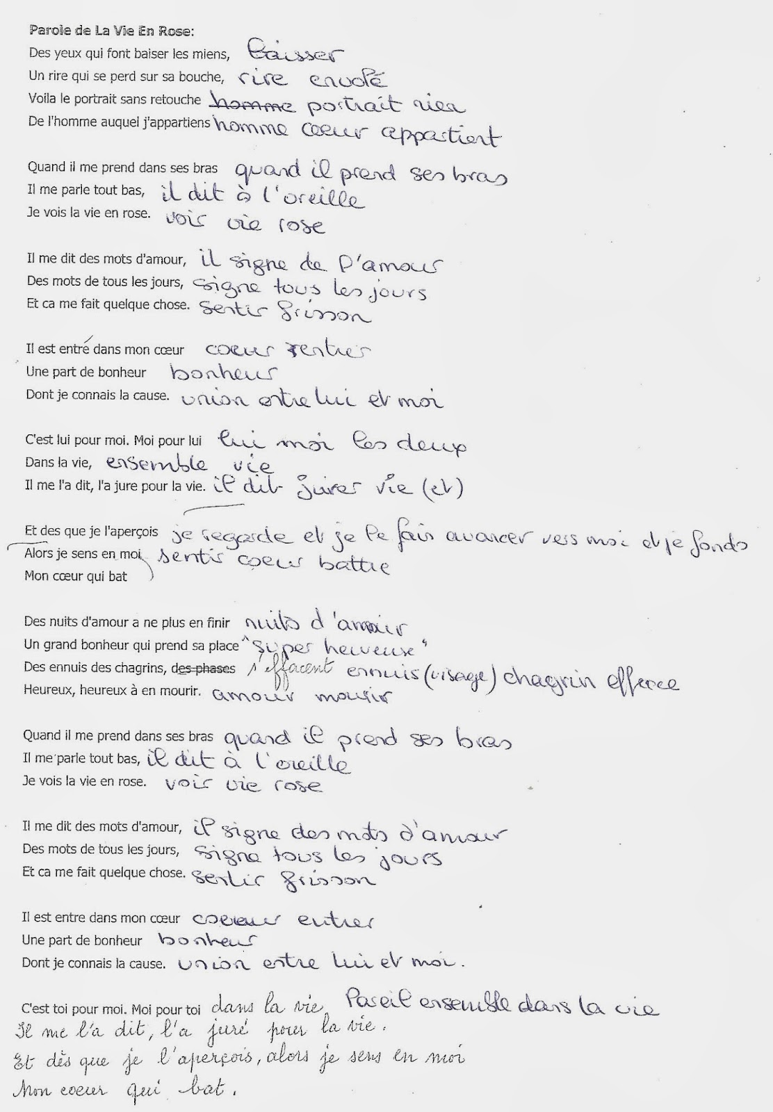 Paroles La vie en blues par Warren - Paroles.net (lyrics)