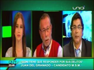 JUAN DEL GRANADO EN QNMP ELECCIONES 2014