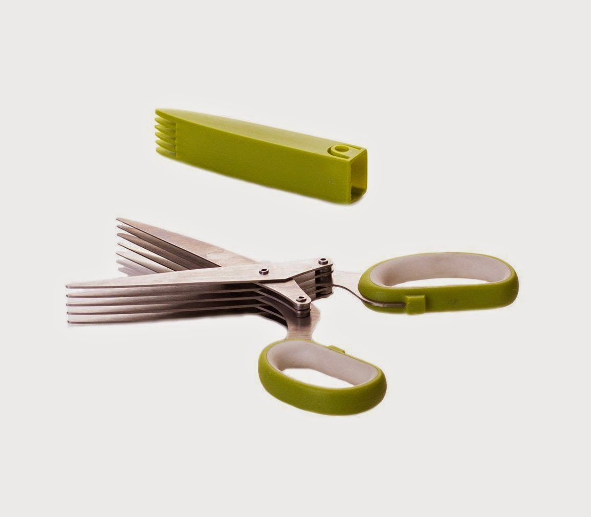 Amazon Deal: Select Culinary 5-Blade Herb Scissors 50% Off