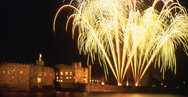 See in the New Year at Leeds Castle