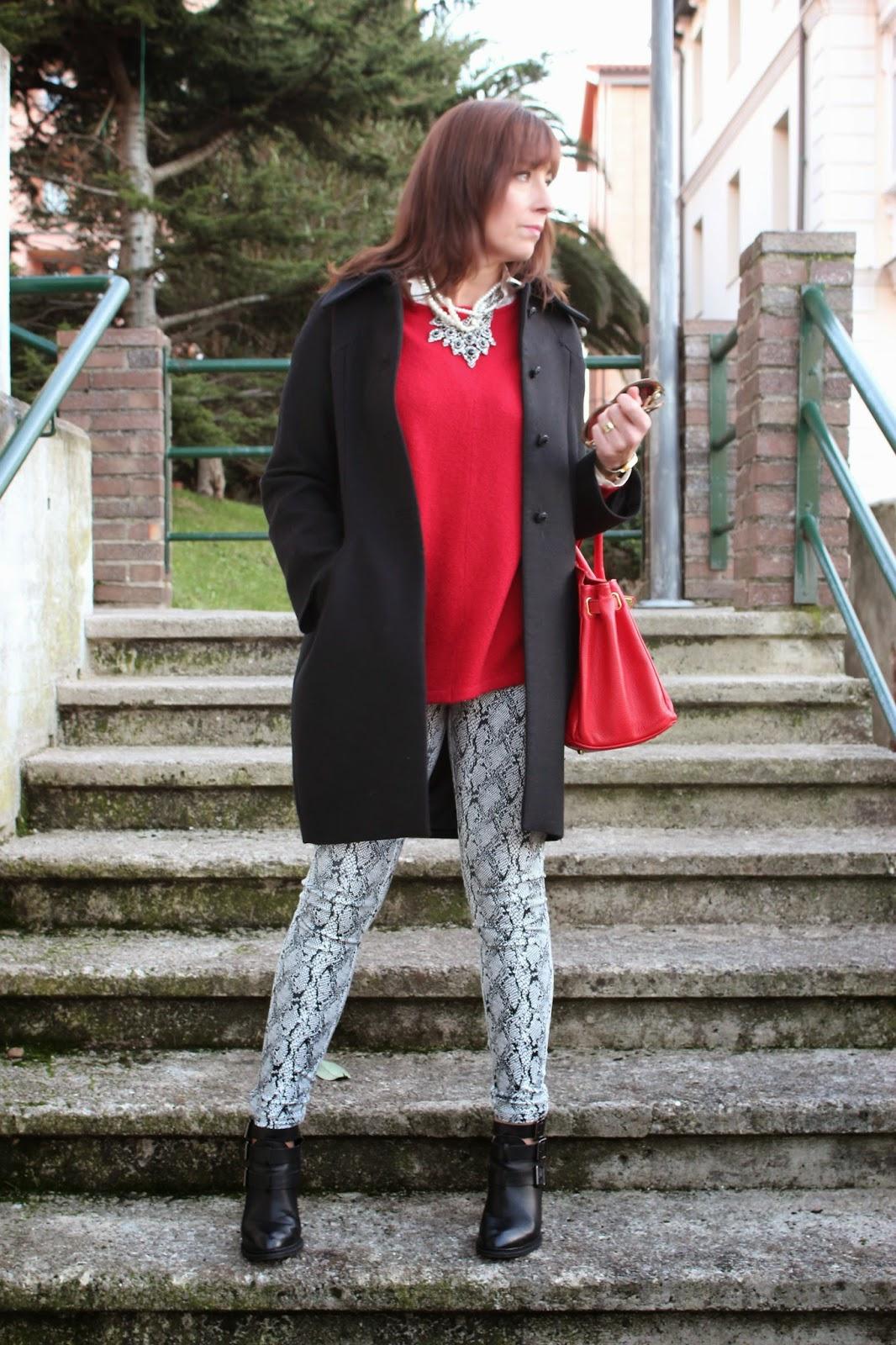 Br jula de estilo mis looks pantalon snake print - Brujula de estilo ...