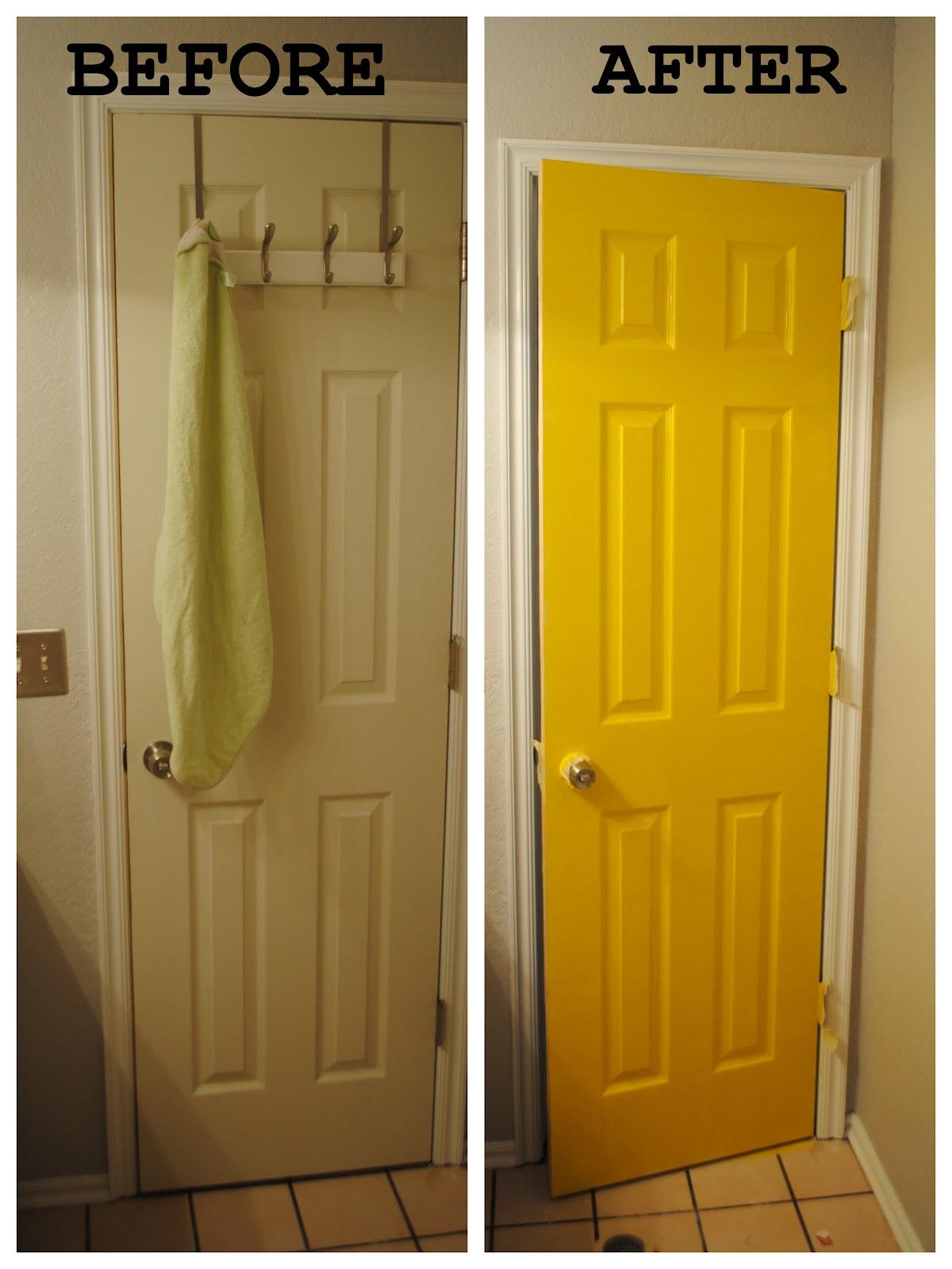 Charmant Iu0027ve Got Sunshine   Yellow Interior Door