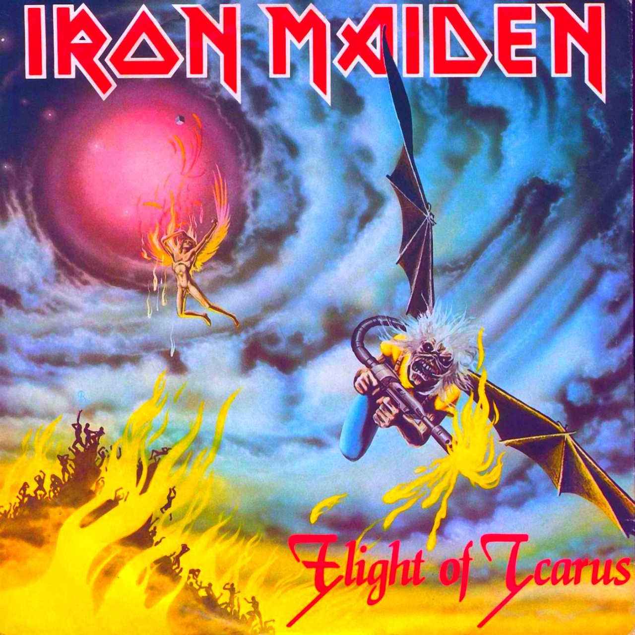 letra de la cancion iron maiden: